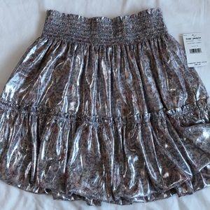 Darling Free People mini skirt.